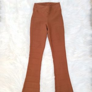 Vintage BIA High Waisted Women M  Stretch Pants Pu